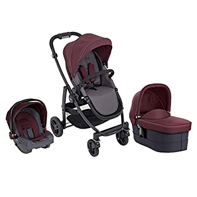 Graco Evo Trio Including Footmuff & Raincover, Mineral