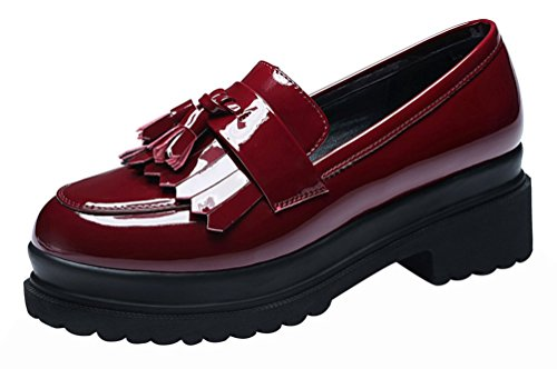fq-real-women-fashion-cute-casual-slip-on-flower-walking-platform-loafer-shoes5-uk-red