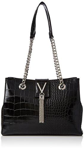 Mario Valentino Damen Divina Tasche, Black (Nero), One Size