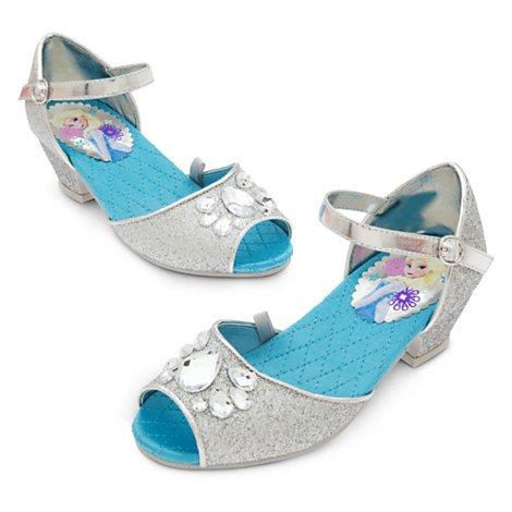Disney Gefrorene Silberne Schuhe für Kids UK Größe 9 / EU-Größe 27