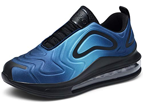 SINOES Herren Sneaker Laufschuhe Sportschuhe Atmungsaktiv Gemütlich Mesh Freizeitschuhe Luftkissenschuhe Schnürschuhe Low-Top Schuhe