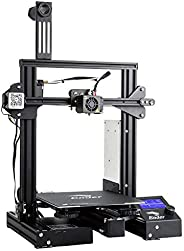 Comgrow WOL 3D Creality Ender 3 Pro 3D Printer with Upgrade Cmagnet Build Surface Plate and ul Certified Power