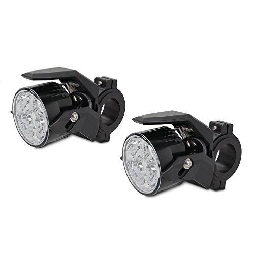 Motorrad Zusatzscheinwerfer ZS2 LED E-Zulassung Lumitecs 12V/24V inkl. Kabelbaum