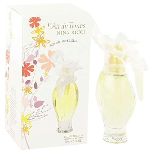 L'AIR DU TEMPS by Nina Ricci Eau De Toilette Spray 1 oz / 30 ml (Women) -