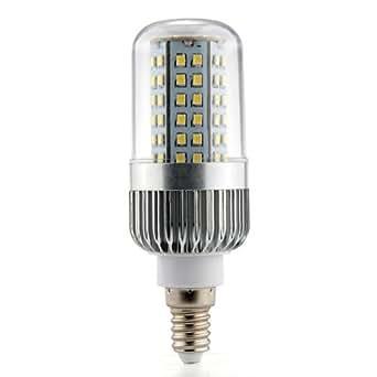 CroLED E14 7W Ampoule LED 2835 SMD Ampoule Lampe Spot Bulb Maïs Blanc Chaud AC 100 V - 240 V