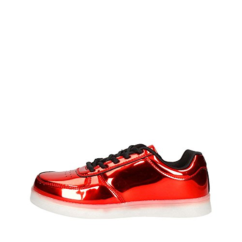 WIZE&OPE 011 SNEAKERS Donna ROSSO ROSSO 38