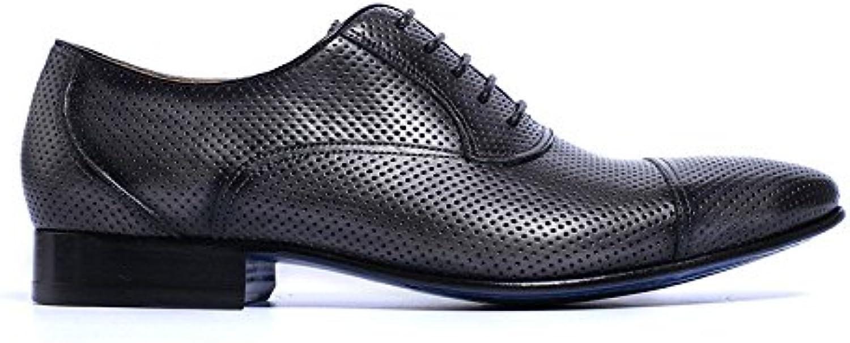 CJC Schuhe Herren Leder Driving Sets Breathable Casual Herrenschuhe (Farbe : 1  Größe : EU42/UK8.5)