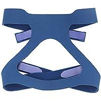 Hersvin - Copricapo Universale CPAP Fascia, Regolabili Ricambio, Buona Elasticità per La Maggior Parte della Maschera Nasale, Maschera Facciale Integrale per Respironics Resmed Resmart (Blu)