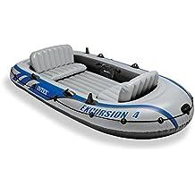 Intex - Barca hinchable Intex excursion 4 & 2 remos - 315x165x43 cm - 68324NP