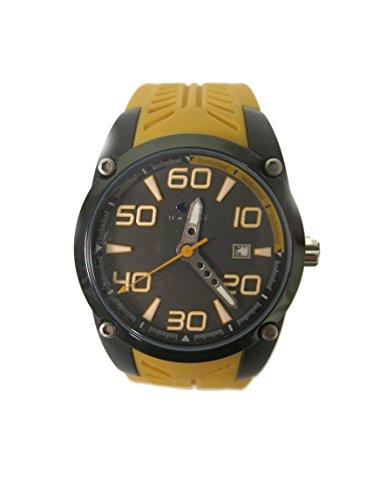 Time Force reloj analógico de hombre en caucho ocre TF2830J09