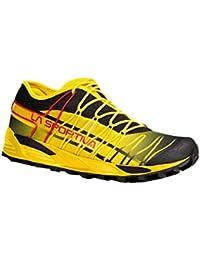 La Sportiva Mutant - Deportivos de running para hombre, color negro / amarillo, talla 44