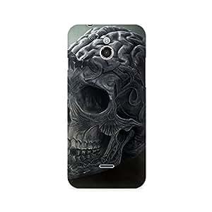 TAZindia Skull Brain Premium Printed Case For InFocus M2