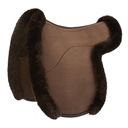 Acavallo Gel-Grip Showing Numnah Large Brown 2