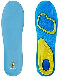 Sorbothane cómodo Pie ortopédica para el calzado deportivo Full Strike plantillas, 5-6.5