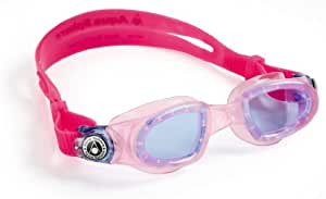 Aqua Sphere Kids' Moby Blue Lens Swimming Goggle - Pink