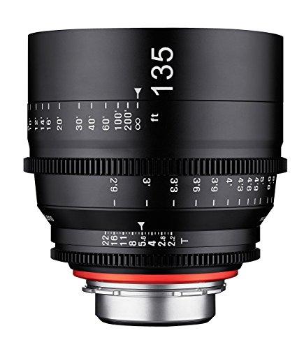 Rokinon Xeon T2.2 Professional Cine Linse für PL-Halterung, 135 mm Cine Digital Master