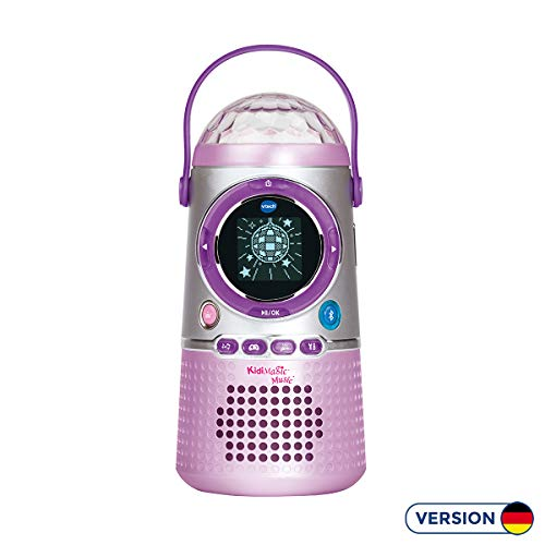 Vtech 80-163904 KidiMagic Music Lautsprecher für Kinder Kindermusikplayer, Mehrfarbig