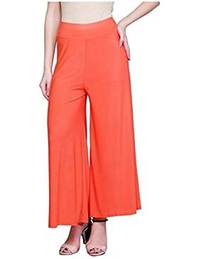 Indian Handicrfats Export Nagru Regular Fit Women Orange Trousers