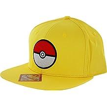 907c0fd21fdb9 Pokemon Pokeball Yellow Snapback Gorra De Béisbol