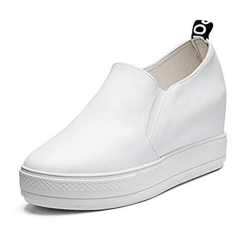Épaisseur ronde souliers pour dames plate-forme à la fin de/Chaussures accrue de loisirs pour les femmes E