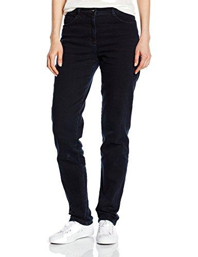 BRAX Damen Jeanshose 70-3000 CAROLA Denim Rose, Blau (CLEAN BLUE BLACK 22), Gr. W36/L30 (Herstellergröße: 46K)