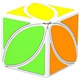 HAKATA Qiyi Mofangge Ivy Cube FengYe Skewb Cube Puzzles Eitan Ivy Leaf Cube White