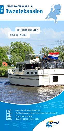Waterkaart 06 Twentekanalen 1:50 000: Wasserkarte: WATERKAART 6 TWENTEKANALEN 2019 por ANWB
