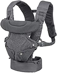 Infantino FLIP Advanced 4-in-1 convertible baby carrier facing-in (narrow seat), facing-in (wide seat), facing