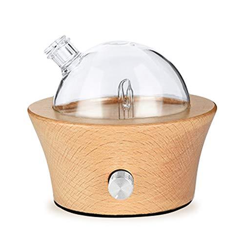 Preisvergleich Produktbild FSM88 Ätherisches Öl Zerstäuber Diffusor,  Reine ätherische Öle Düfte Aromatherapie Holz & Glas Diffusor,  für Haus / und Auto / Büro Hotel