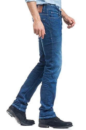Salsa - Jeans Lima, mittlere intensive Waschung - Herren Blau
