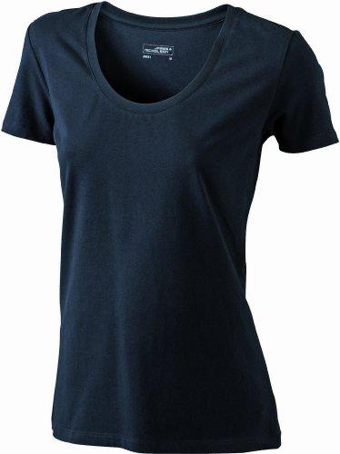 James & Nicholson - T-Shirt - Maternité Femme Noir (Black)