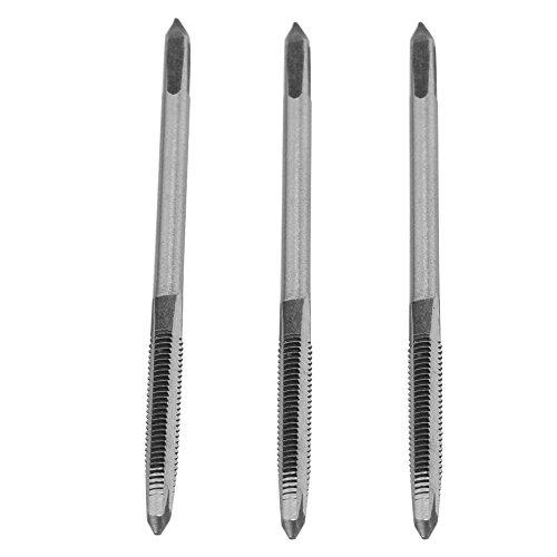3 Teile/Satz M3/M4/M5 Lager Stahl Handgewinde Gewindebohrer Gewindebohrer Werkzeug(M4) (Hand Sockel Linke)