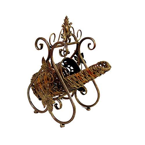 Una1Ellis Kreative schmiedeeisen weinregal DIY Retro Europäischen romantischen schaukel weinregal Dekoration Wohnzimmer esszimmer Dekoration