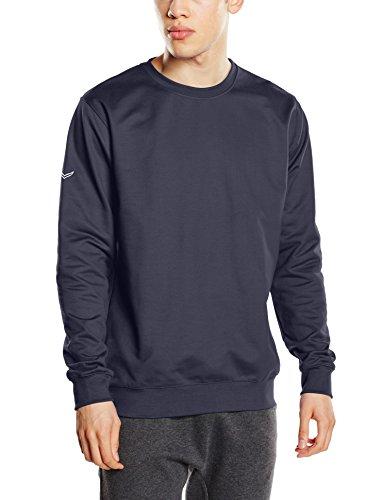 Trigema Herren Sweatshirt 674501, Gr. XXXX-Large, Blau (Navy 046)