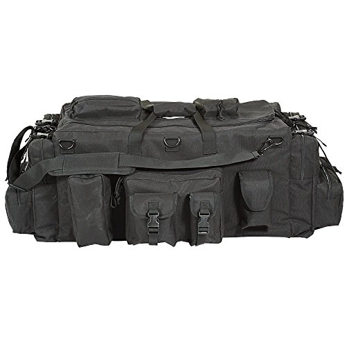 Voodoo Tactical Mojo Load-Out Bag with Backpack Straps Kampftasche Reisetasche (Black)