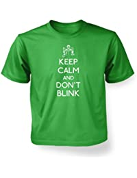 Keep Calm And Don't Blink Kids' T-shirt