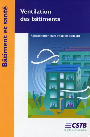 Ventilation des bâtiments: Comment réhabiliter la ventilation dans les bâtiments existants par Brigitte Brogat, Philippe Lanchon
