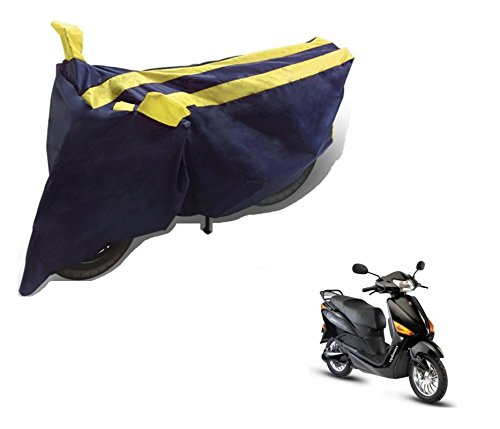 Auto Hub Bike Body Cover For Hero Electric Optima - Black Yellow  available at amazon for Rs.275