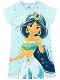 Disney - Chemise de Nuit - Aladdin - Fille - Jasmine - Bleu - 5-6 Ans