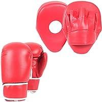 Lions Junior Punch Smartie Focus Pads Kids Hook & Jab Thai Kick Boxing Gloves 6oz Set