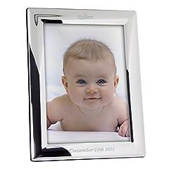 Idea Regalo - Cornice portafoto argento personalizzabile, unico idea regalo per qualsiasi occasione speciale to Treasure Forever.