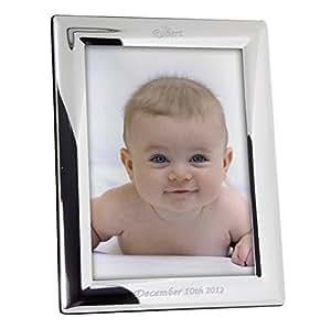 Cornice portafoto argento personalizzabile, unico idea regalo per qualsiasi occasione speciale to Treasure Forever.