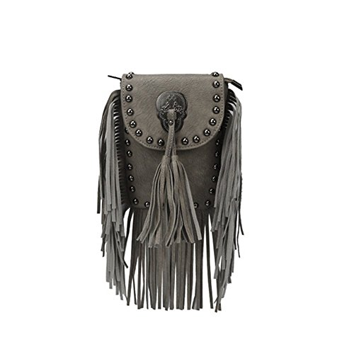 Eysee, Borsa a tracolla donna verde Grey 14cm*19cm*2cm Light grey