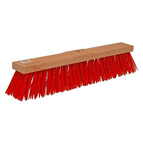 Brück 2601723 Straßenbesen Elaston Bauernlob S.359, Rot, 60 cm