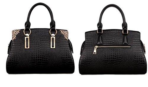 Damen Handtaschen Handtaschen Umhängetasche Krokodil Muster Leder Handtaschen Europa Und Die Vereinigten Staaten Fashion Elegant Einfache Diagonale Paket C