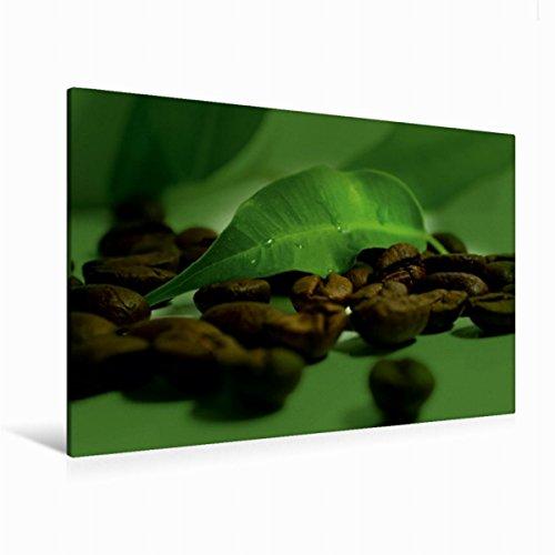 Premium Textil-Leinwand 120 cm x 80 cm quer Kaffee Impression | Wandbild, Bild auf Keilrahmen, Fertigbild auf echter Leinwand, Leinwanddruck (CALVENDO Lifestyle) (Kaffee-haus-sammlung)