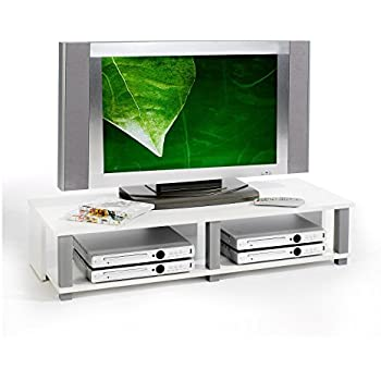 ikea tv bank lack 90x26x45cm beistelltisch in weiss mit unterfach k che haushalt. Black Bedroom Furniture Sets. Home Design Ideas