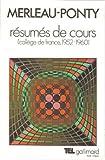 Résumés de cours - Collège de France (1952-1960)