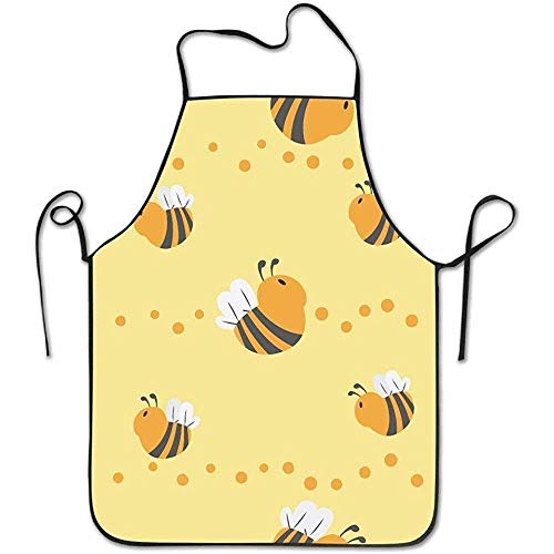 Waist Apron Bee Seamless Funny Cooking Apron