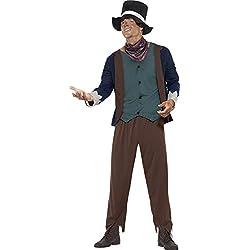 Smiffy's Disfraz de hombre pobre victoriano (43428M)